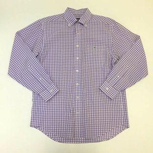 Vinyard Vines Purple Plaid Check Tucker Shirt